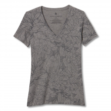 Women's All Over Floral V-Neck S/S by Royal Robbins