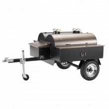 Double Commercial Trailer by Traeger Grill