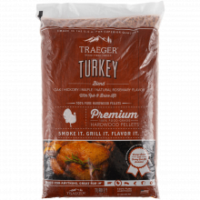 Turkey Blend W/ Brine Kit (20 Lb Bag) by Traeger Grill