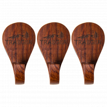 Magnetic Wooden Hooks-3 Piece by Traeger Grill