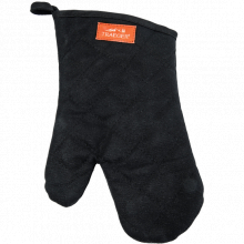Bbq Mitt - Black Canvas And Leather by Traeger Grill