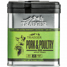 Pork & Poultry Rub (Apple/Honey) by Traeger Grill