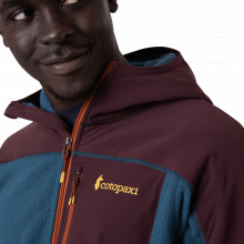 Men's Abrazo Hooded Full-Zip Fleece Jacket