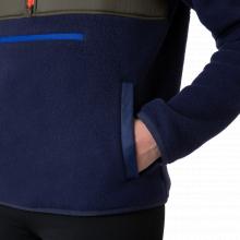 Women's Teca Fleece Hooded Half-Zip Jacket