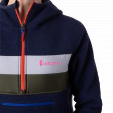 Women's Teca Fleece Hooded Half-Zip Jacket by Cotopaxi