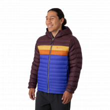 Men's Fuego Down Hooded Jacket by Cotopaxi in Lakewood CO