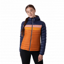 Women's Fuego Down Hooded Jacket by Cotopaxi in Lakewood CO