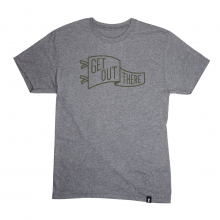 Men's Get Out There Pennant T-Shirt by Cotopaxi