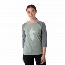 Women's Llama Baseball T-Shirt by Cotopaxi