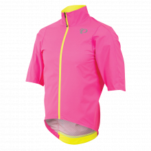 Men's P.R.O. Short Sleeve Rain Jacket by PEARL iZUMi in Salmon Arm Bc