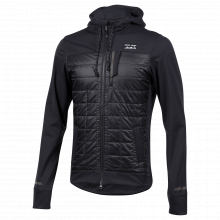Men's Versa Quilted Hoodie by PEARL iZUMi in Westminster CO