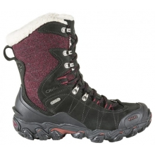 "Women's Bridger 9"" Insulated B-DRY by Oboz in Red Deer Ab"