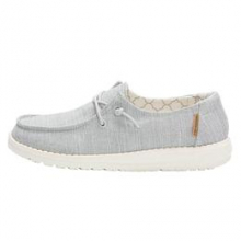 Kids Wendy Youth Linen Grey by Hey Dude in Fort Collins CO