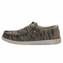 Men's Wally Sox Woodland Camo by Hey Dude in Knoxville TN