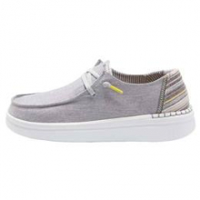 Women's Wendy Rise Grey Lines by Hey Dude in Knoxville TN