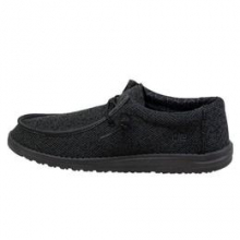 Men's Wally . Sox Micro Total Black by Hey Dude