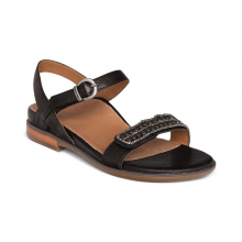 Women's Rylie Beaded Qtr Strap Black