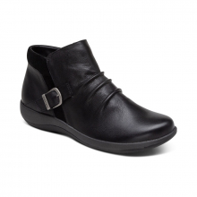 Luna Buckle Boot - Black