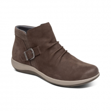 Luna Buckle Boot - Charcoal by Aetrex in Grinnell IA