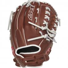 """R9 Pull Strap/Dbl Laced Bskt FS SB Glove - 12"""" by Rawlings"""