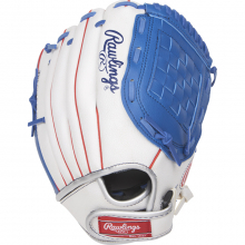 "Players Series Conv/H-Web Glove 11"" - Wht/Blu/Red by Rawlings"