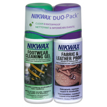 Fabric & Leather Proof Duo-Pack by Nikwax