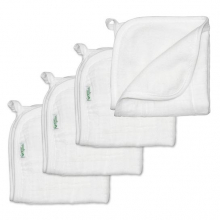 Muslin Washcloths made from Organic Cotton (4pk) by Green Sprouts, Inc.