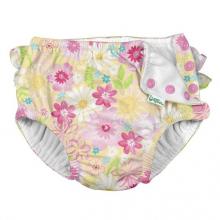 Ruffle Snap Reusable Absorbent Swimsuit Diaper