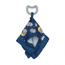 Snuggle Blankie Teether made from Organic Cotton by Green Sprouts, Inc. in Squamish BC