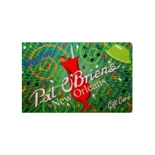 $50 Pat O's Gift Card for French Quarter (New Orleans)