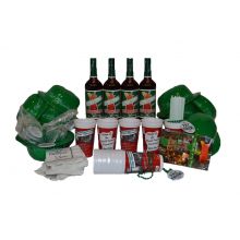 Pat O'Brien's Party Pack for 12 People (with Hurricane cups) by Pat O'Briens