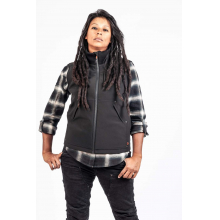Women's Mfon Work Vest in Black