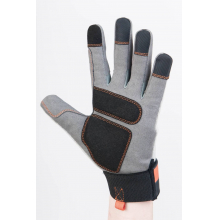 Women's Multi Purpose Work Glove in Grey/Black/Paprika