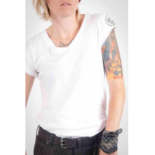 Women's Solid V-Neck Tee