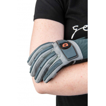 Women's Impact Protective Glove in Blue/Grey