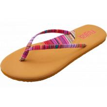 Women's Hula Textile Strap Thong Sandal by Flojos