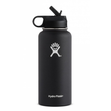 32 oz Wide Mouth w/ Straw by Hydro Flask