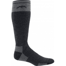 Men's X-Wide Merino Wool Over-the-Calf Full Cushion by Darn Tough in Durango Co