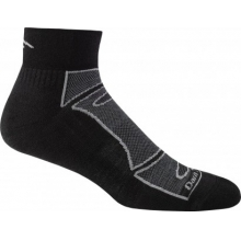 Men's Merino Wool 1/4 Sock Ultra-Light Cushion by Darn Tough in Fort Collins Co