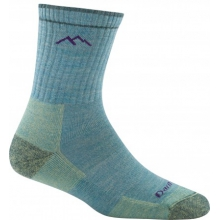 Women's Merino Wool Micro Crew Sock Cushion by Darn Tough in Boulder Co