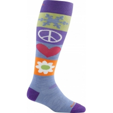 Women's Peace Love Snow Over-the-Calf Light by Darn Tough