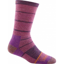 Summit Stripe Boot Sock Full Cushion by Darn Tough in Missoula Mt
