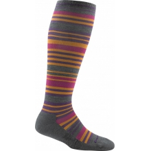 Women's Striped Knee High Light Cushion by Darn Tough