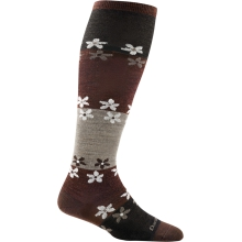 Women's Flowers Knee High Light by Darn Tough in Arcata Ca