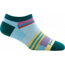 Women's Modern Stripe No Show Light by Darn Tough in New Denver Bc