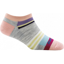 Women's Modern Stripe No Show Light by Darn Tough