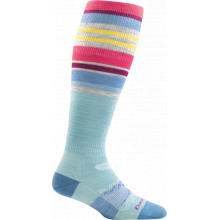 Women's Glacier Stripe OTC Light by Darn Tough