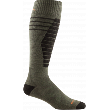 Men's Edge OTC Midweight with Cushion w/ Padded Shin by Darn Tough in Golden CO