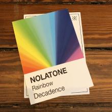 Decadence Rainbow Postcard by Dirty Coast