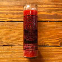 You Will Find A Crawfish Boil Prayer Candle by Dirty Coast in Miramar Beach FL